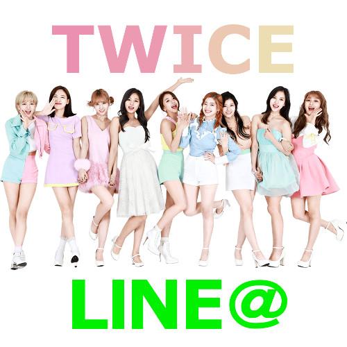 TWICE LINE@ 画像