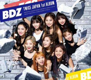 TWICE BDZ ジャケ写 2018 アルバム