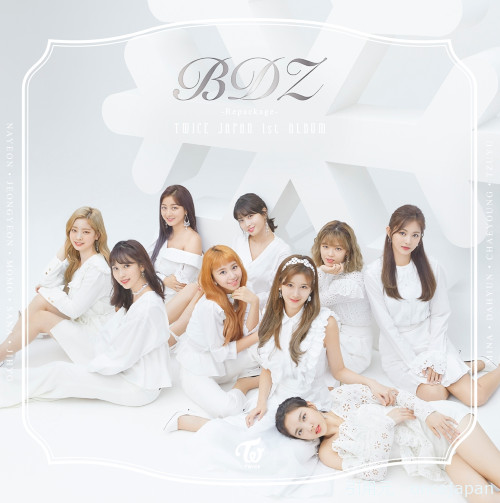 TWICE 『BDZ -Repackage-』 アルバム