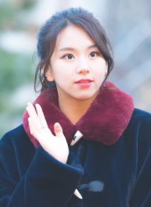 TWICE チェヨン 髪型 可愛い 画像