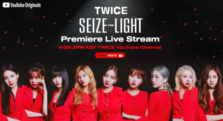 TWICE seize the light